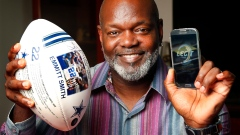 Dallas Cowboys' Hall of Fame running back Emmitt Smith