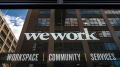 NEW YORK, NY - SEPTEMBER 13:  A WeWork office facility stands in the DUMBO neighborhood in the Brooklyn borough of New York City on September 13, 2019. WeWork has chosen to list their IPO on the Nasdaq with a September 23 trading debut. The company is now considering a valuation of potentially less than $20 billion after being previously valued on the private market for as much as $47 billion. The company has also reduced CEO Adam Neumann's voting power after receiving sharp criticism of their corporate governance. (Photo by Drew Angerer/Getty Images)