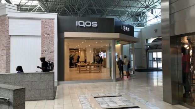 An IQOS store at the Lenox Square mall in Atlanta.