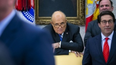 Rudy Giuliani. Bloomberg/Al Drago