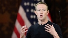 Facebook CEO Mark Zuckerberg speaks at Georgetown University, Oct. 17, 2019, in Washington. AP Photo