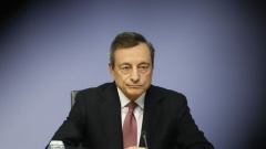 Mario Draghi, president of the European Central Bank (ECB), pauses during a rates decision news conference in Frankfurt, Germany, on Thursday, Sept. 12, 2019.