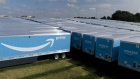 Amazon.com Inc. Prime branded semi-trailers