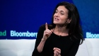 Sheryl Sandberg, chief operating officer of Facebook Inc., speaks during the Bloomberg Year Ahead Su