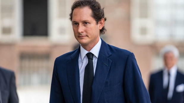 John Elkann, chairman of Fiat Chrysler Automobiles NV