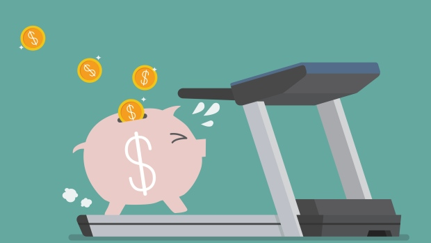 Financial treadmill