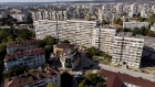 Soviet era apartment blocks and residential property stand on the city skyline in Varna, Bulgaria, on Thursday Oct. 10 2019. The region that straddles the Danube in Romania and Bulgaria has made it a bread basket for centuries but after fits and starts toward the free market, chronic shortages, corruption and political upheaval, it's plugged into the world economy thanks to the EU's open borders and money.