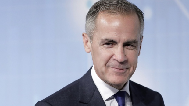 Mark Carney. Bloomberg