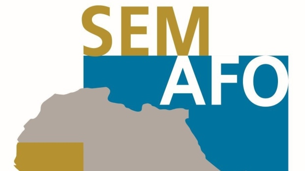 The Semafo Inc. logo is seen in this undated handout photo.