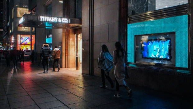 Tiffany & Co flagship in New York