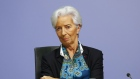 Christine Lagarde pauses during the central bank's rate decision news conference in Frankfurt on Dec. 12.