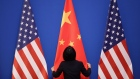 GETTY IMAGES - U.S. and China flags