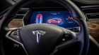 The control panel of a Tesla Inc. Model S electric vehicle displays automobile information inside a Tesla Inc. store in Barcelona, Spain, on Thursday, July 11, 2019. Tesla is poised to increase production at its California car plant and is back in hiring mode, according to an internal email sent days after the company wrapped up a record quarter of deliveries. Photographer: Angel Garcia/Bloomberg