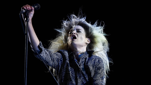 U.S. Lead singer Alison Mosshart of the North American band The Kills