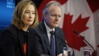 Stephen Poloz, governor of the Bank of Canada, and Carolyn Wilkins, senior deputy governor