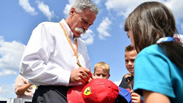 Chase Carey. Getty Images Europe/Mark Thompson