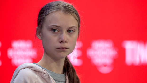 Young climate activist fears words not action at Davos