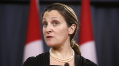 Chrystia Freeland Photographer: David Kawai/Bloomberg