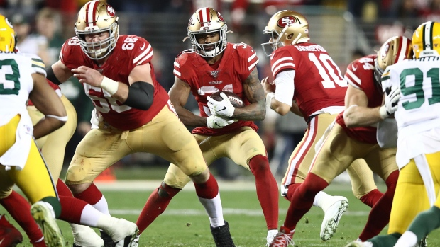 GETTY IMAGES NORTH AMERICA - The San Francisco 49ers