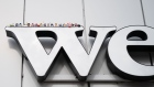 A WeWork logo in Amsterdam. Photography: Jasper Juinen/Bloomberg Photographer: Jasper Juinen/Bloomberg