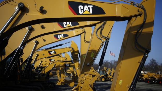 Caterpillar's stock falls after profit beats expectations but sales and outlook miss