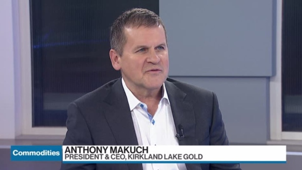 Kirkland lake gold ceo anthony makuch