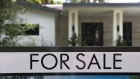 MIAMI, FLORIDA - MAY 30: A 'for sale' sign is seen in front of a home on May 30, 2019 in Miami, Florida. The National Association of Realtors announced that its pending home sales index fell 1.5% for the month of April.(Photo by Joe Raedle/Getty Images)