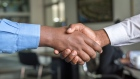 Image courtesy of Unsplash.com employment handshake job business deal