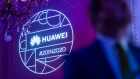 A Huawei Technologies logo during the company's Chinese New Year celebration in Brussels. Bloomberg