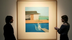 David Hockney's painting 'The Splash'