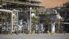 The Natural Gas Liquids (NGL) facility operates at Saudi Aramco's Shaybah oil field in the Rub' Al-Khali desert, also known as the 'Empty Quarter,' in Shaybah, Saudi Arabia, on Tuesday, Oct. 2, 2018. Saudi Arabia is seeking to transform its crude-dependent economy by developing new industries, and is pushing into petrochemicals as a way to earn more from its energy deposits. Photographer: Simon Dawson/Bloomberg