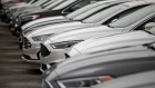 2020 Ford Motor Co. Fusion vehicles are displayed at a car dealership in Orland Park, Illinois, U.S., on Friday, Sept. 27, 2019.