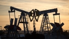 "Oil pumping jacks, also known as ""nodding donkeys"", operate in an oilfield near Almetyevsk, Tatarstan, Russia, on Wednesday, March 11, 2020. Saudi Aramco plans to boost its oil-output capacity for the first time in a decade as the worlds biggest exporter raises the stakes in a price and supply war with Russia and U.S. shale producers. Photographer: Bloomberg/Bloomberg"