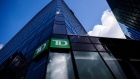 Signage is displayed outside a Toronto-Dominion (TD) Canada Trust bank branch in Vancouver, British Columbia, Canada, on Thursday, Aug. 30, 2018. Toronto-Dominion Bank posted a record quarter in the U.S., thanks to Americans who took out more loans and turned to the discount broker services of a bulked-up TD Ameritrade.