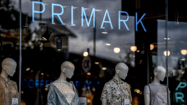 "Mannequins stand in a window display at a Primark fashion store, operated by Associated British Foods Plc, at Brocklebank Retail Park in London, U.K., on Thursday, June 13, 2019. ""My frustration is the government thinking the way to make our country more equal is to make London poorer,"" London Mayor Sadiq Khan said in an interview Monday. Photographer: Chris J Ratcliffe/Bloomberg"