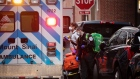 Medical workers in a Monut Sinai ambulance respond to a call in the Financial District of New York, U.S., on Monday, March 30, 2020. Roughly 37,500 people have tested positive for the coronavirus in New York City, officials said on Monday, up about 3,700 from a day earlier. Photographer: Michael Nagle/Bloomberg
