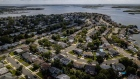 Homes in Merrick, along Long Island's south shore. Photographer: Johnny Milano/Bloomberg