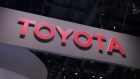 Toyota Motor Corp. signage is displayed at CES 2020 in Las Vegas, Nevada, U.S., on Wednesday, Jan. 8, 2020. Every year during the second week of January nearly 200,000 people gather in Las Vegas for the tech industry's most-maligned, yet well-attended event: the consumer electronics show. Photographer: Bridget Bennett/Bloomberg