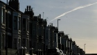 A row of terraced houses stand in Redcar, U.K., on Monday, Jan. 20, 2020. The fate of one of the Bank of England's trickiest interest-rate decision in years is in the balance, sharpening the focus on the nine policy makers whose votes will impact the cost of borrowing for millions of Britons. Photographer: Ian Forsyth/Bloomberg