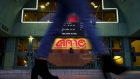 A pedestrians passes in front of an AMC Entertainment Inc. movie theater in Santa Monica, California, U.S., on Tuesday, Feb. 27, 2018. AMC Entertainment is scheduled to release earnings figures on March 1. Photographer: Patrick T. Fallon/Bloomberg