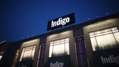 Indigo Books & Music Inc. signage is displayed outside a store at Yorkdale mall in Toronto, Ontario, Canada, on Thursday, Aug. 22, 2019. Statistics Canada (STCA) is scheduled to release consumer price index data on September 18. Photographer: Brent Lewin/Bloomberg