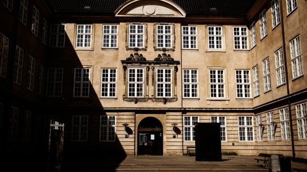 The National Museum stands closed in Copenhagen, Denmark, on Wednesday, April 15, 2020. Danish Prime Minister Mette Frederiksen says her government's efforts to fight Covid-19 have been so successful that the country may now be facing a broader rollback of its lockdown than originally planned. Photographer: Carsten Snejbjerg/Bloomberg