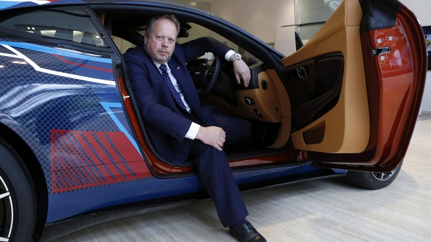 Aston Martin CEO Andy Palmer reportedly stepping down