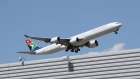 NEW YORK - AUGUST 24 : An Airbus A340-642 operated by South African Airways takes off from JFK Airport on August 24, 2019 in the Queens borough of New York City. (Photo by Bruce Bennett/Getty Images) (Photo by Bruce Bennett/Getty Images) Photographer: Bruce Bennett/Getty Images North America