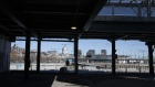 "The Old Port of Montreal is seen through an empty parking garage in Montreal, Quebec, Canada, on Friday, March 27, 2020. Quebec Premier Francois Legault said he's putting Quebec ""on pause"" to limit the coronavirus outbreak and stem physical contact. Photographer: Christinne Muschi/Bloomberg"
