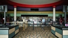 The lobby is seen at the temporarily closed AMC Classic Cartersville 12 movie theater in Cartersville, Georgia on April 22. Photographer: Dustin Chambers/Bloomberg