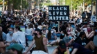 Thousands of people protest to defund the police in support of Black Lives Matter in Toronto
