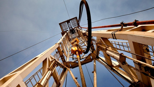 An oilrig operated by the Chinese company Zhongyuan Petroleum Exploration Bureau (ZPEB) is seen near Melut, in the Upper Nile, Sudan, on Monday, Nov. 29, 2010.