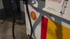 The Royal Dutch Shell logo is seen on a fuel pump at a gas station in Crestwood, Kentucky, U.S., on Monday, April 27, 2020. Royal Dutch Shell is scheduled to release earnings figures on April 30. Photographer: Stacie Scott/Bloomberg