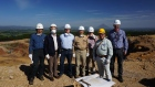 MARKET ONE - Japan Gold's executive team touring Japanese mining operations.